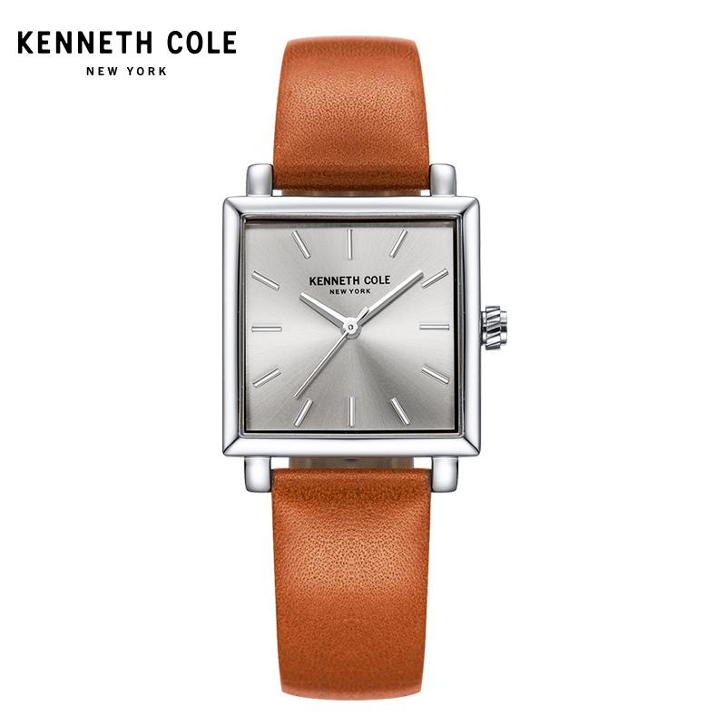 abab559b0 Day Optimization kennethcole women Fashion Simple Square Dial Belt Quartz watch  watches Vintage an Arcane