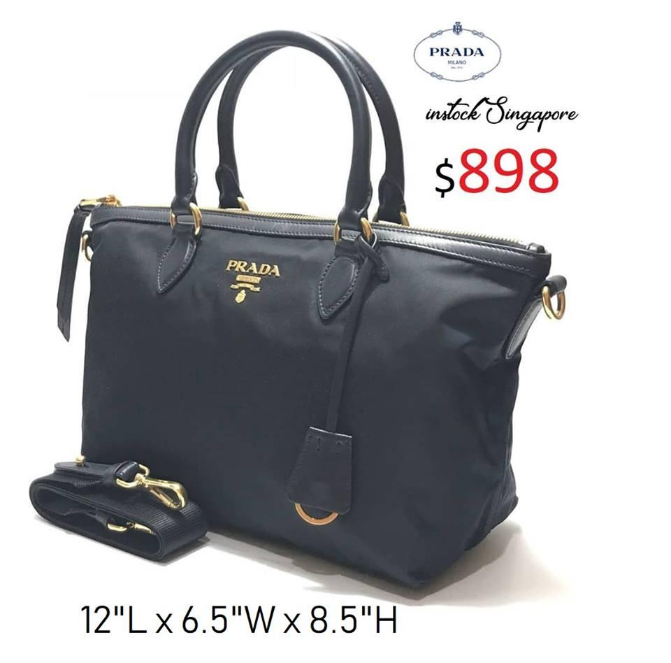 3ac99da25ff7 Prada Bags Singapore Outlet - Style Guru  Fashion