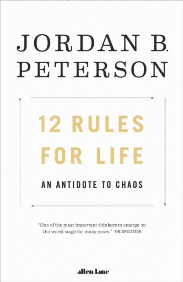 Cheap 12 Rules For Life Author Jordan B Peterson Isbn 9780241351642 Online