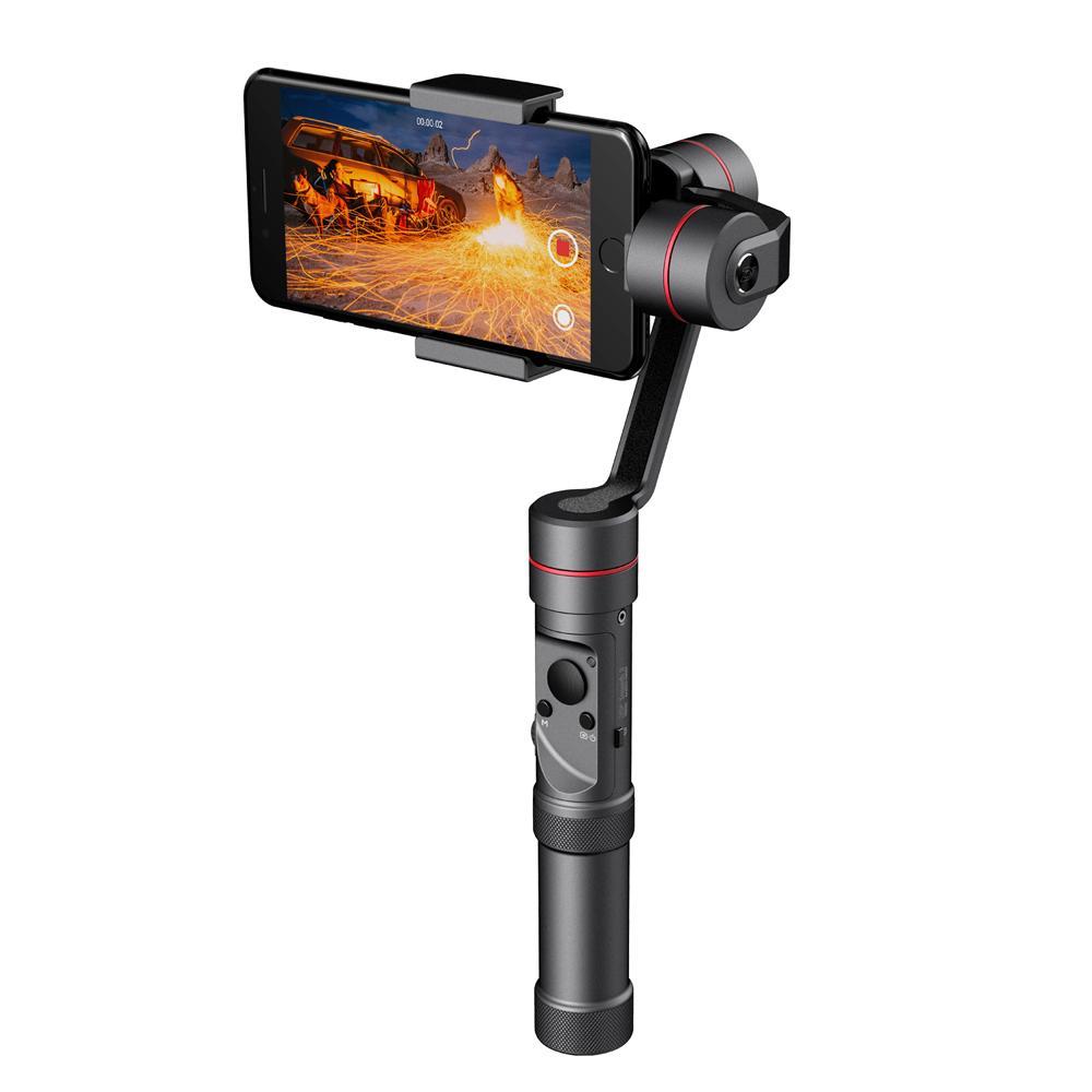 Zhiyun Resmi Halus 3 3-Axis Handheld Stabilizer Gimbal Monopod Handphone untuk iPhone X 8 PLUS 7 Plus