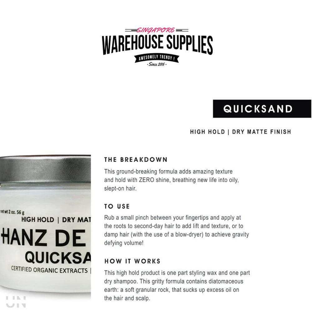 Hanz De Fuko Quicksand Coupon