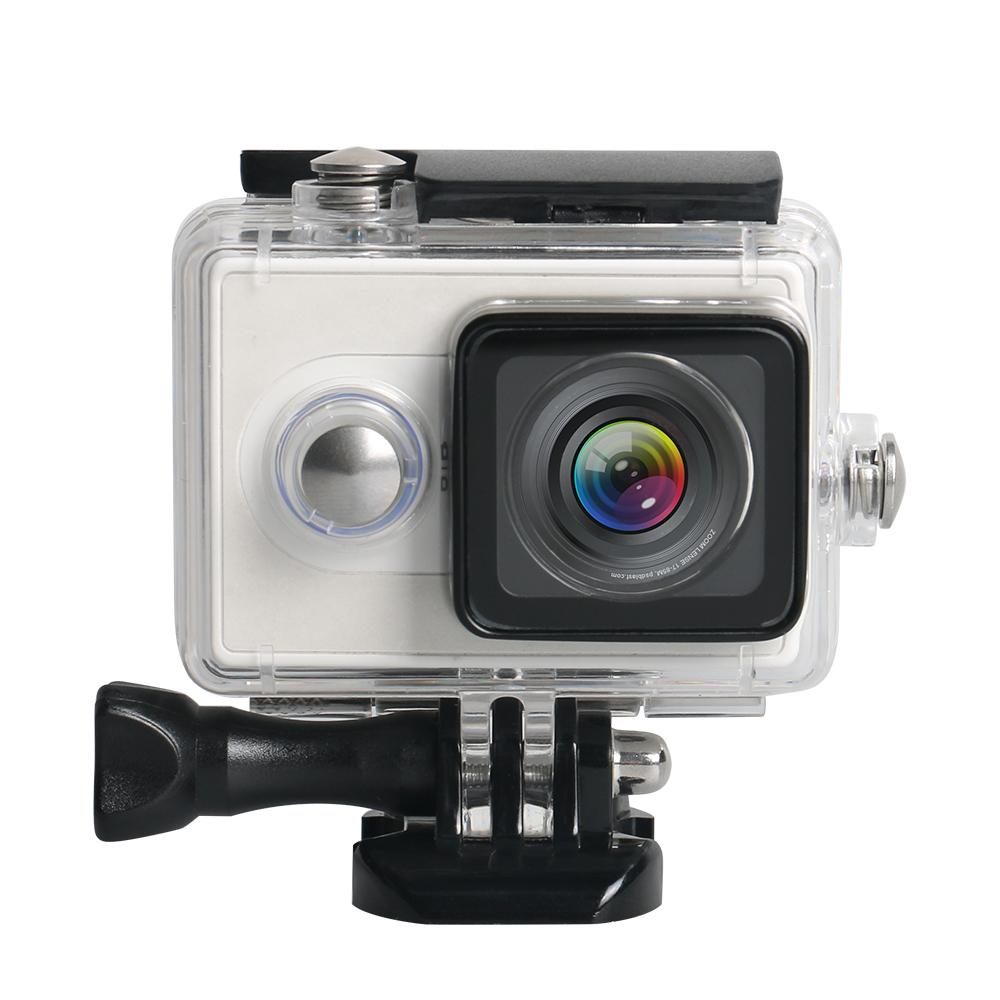 For Xiaomi Yi Sports Action Camera Waterproof Underwater Diving Housing Case 40M(Black)