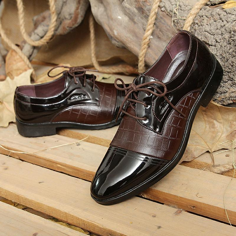 Buy Men S Casual New Style Men Pointed Men S Leather Shoes On China