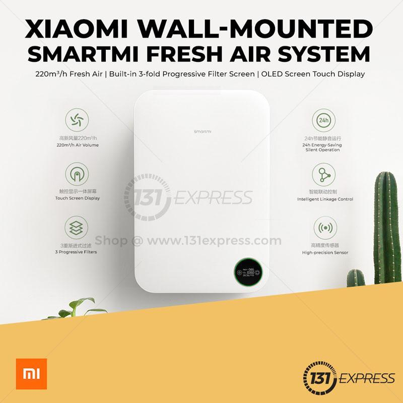 Xiaomi SmartMi Wall Air Purifier System Singapore