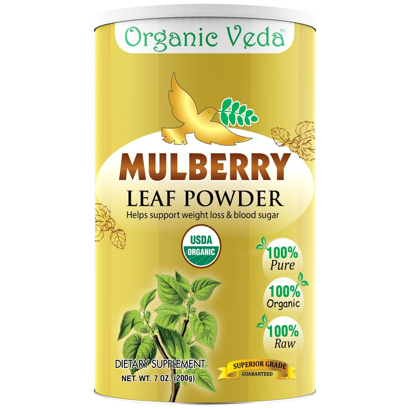 Cheaper Organic Mulberry Powder 200Grams 100 Pure And Natural Herbs Raw Organic Super Food Supplement Non Gmo Gluten Free Us Fda Registered Facility ★ Usda Certified Organic ★ All Natural