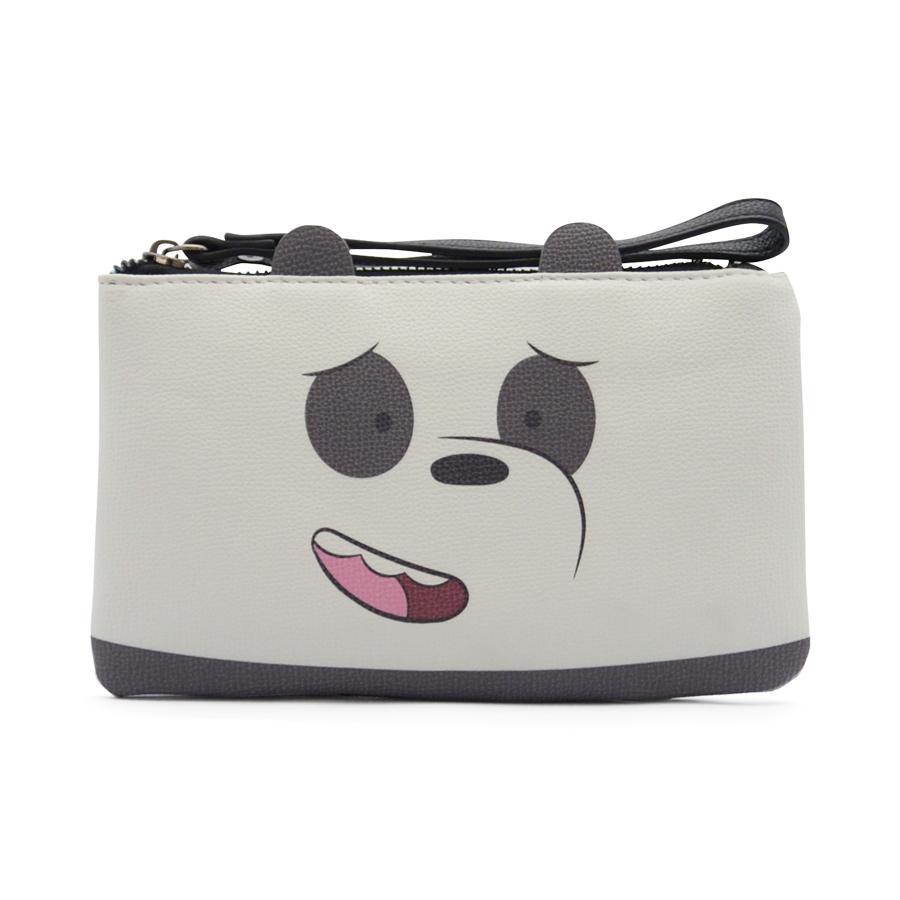 Zakkasg X We Bare Bears Wrislet Grizz-Single Zipper Bag Pouch Purse For Woman Girls Teenagers By Zakkasg