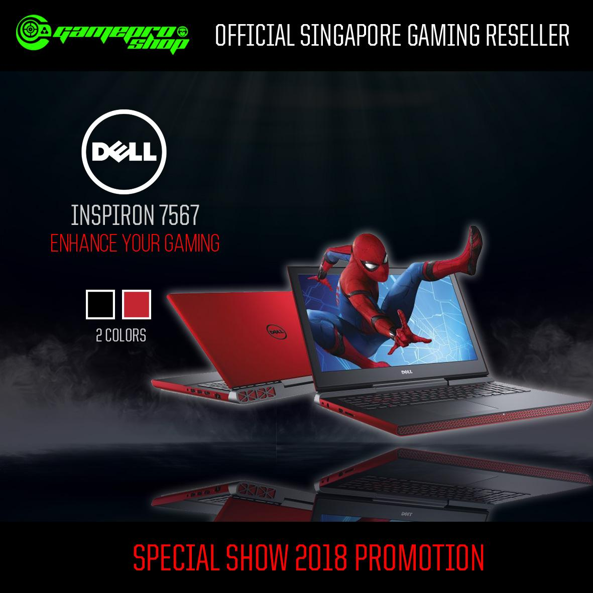 Best Price Dell 7567 Inspiron 15 7000 Gaming Laptop Red I7 7700Hq Gtx1050Ti 4Gb Win10 Gss Promo