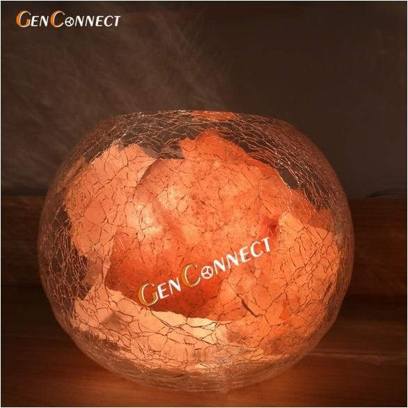 Best Buy 100 Authentic Pakistan Himalayan Salt Lamp Himalayan Pink Salt Crystal With Glass Holder Fluorescent Yellow