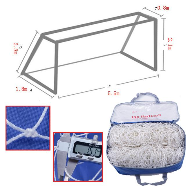 Football Goal Nets(7-People Football) By Fresh Air Online Store.