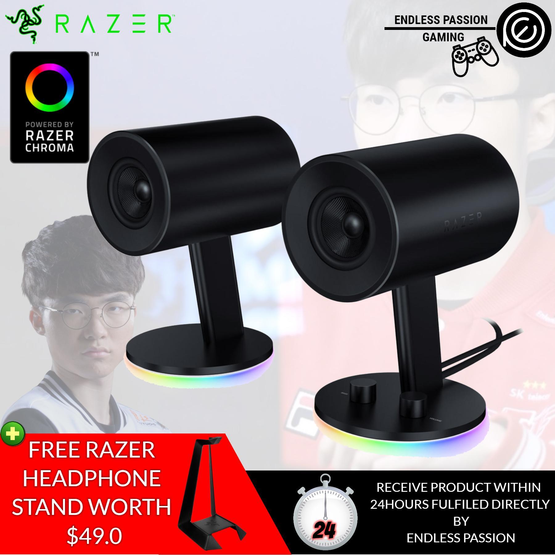 Best Rated Razer Nommo Chroma Full Range 2 Gaming Speakers For Pc