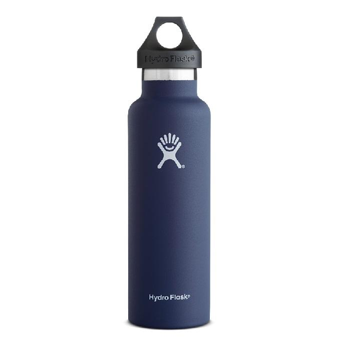 Sale Hydro Flask 21Oz Standard Mouth Insulated Bottle Cobalt Hydro Flask Original