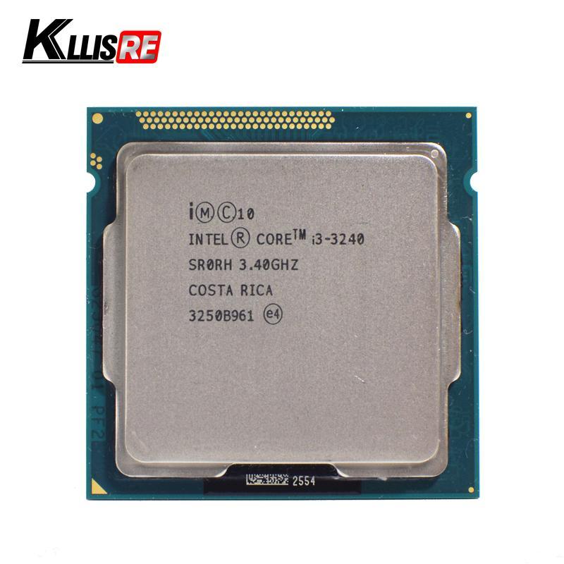 Intel I3 3240 Dual-Core 3.4 GHz LGA 1155 DP Mulai dari 55 W B Cache I3-3240 Prosesor CPU-Intl