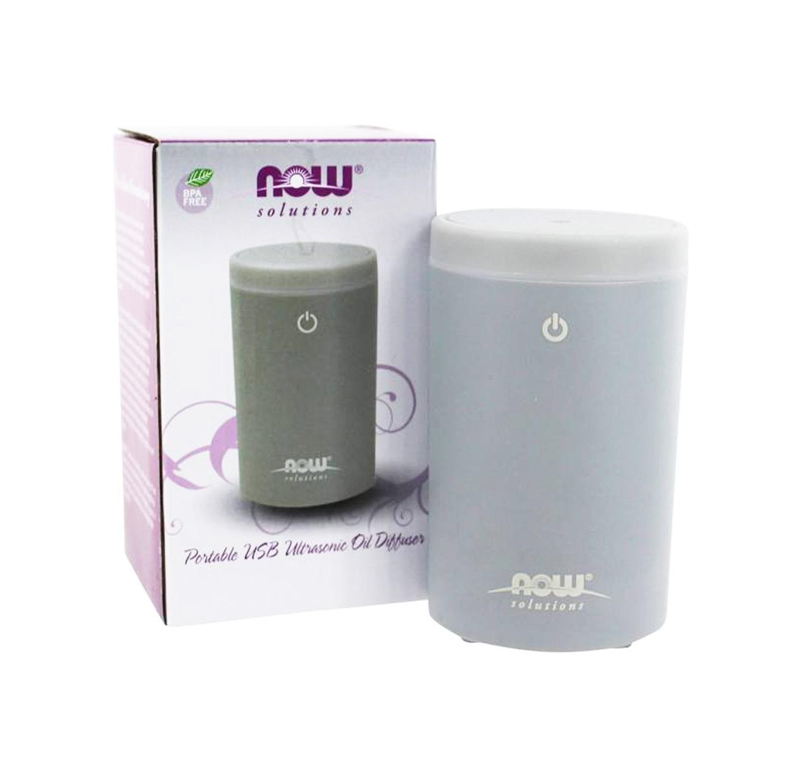 Now Foods, Ultrasonic Portable USB Oil Diffuser (Grey)