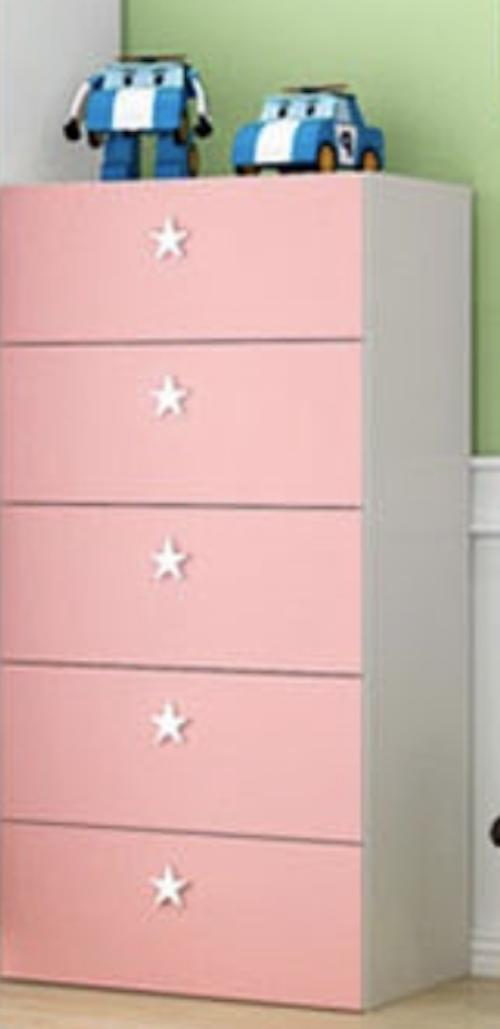 Kids Modern Cabinet / Wardrobe (Free Installation)
