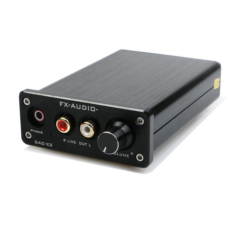 Compare Price Feixiang Fx Audio Dac X3 Fiber Coaxial Usb Decoder 24Bit 192Khz Usb Dac Headphone 192Khz Decoder Audio Amplifiers On China