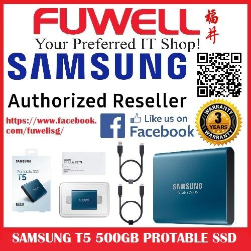 Sale Samsung Portable Ssd T5 500Gb Samsung Wholesaler