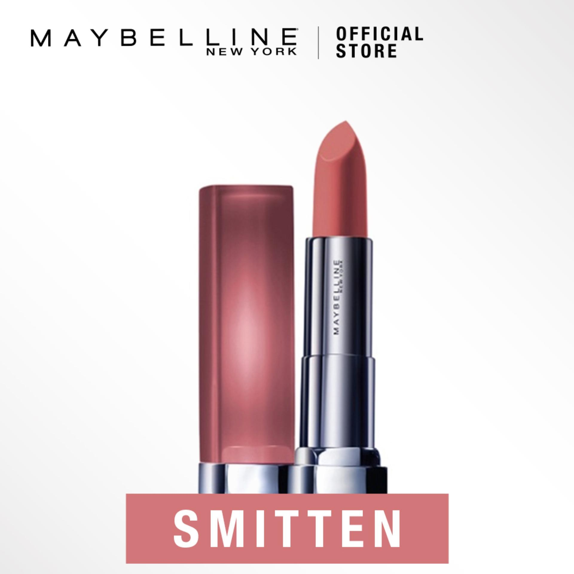 Maybelline Color Sensational Powder Matte Lipstick Inti-Mattes Nudes
