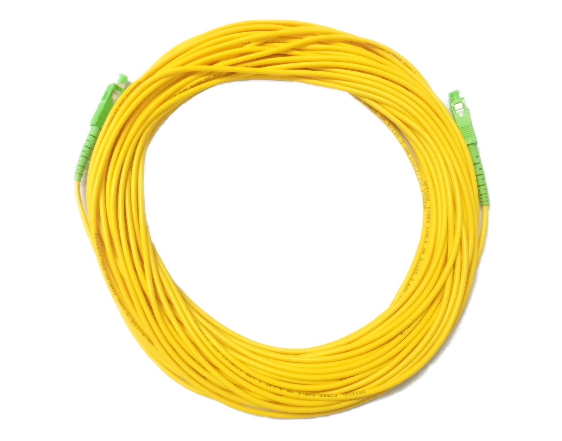 Fibre Optics Cable SC/APC-SC/APC Singlemode Simplex 30 metre