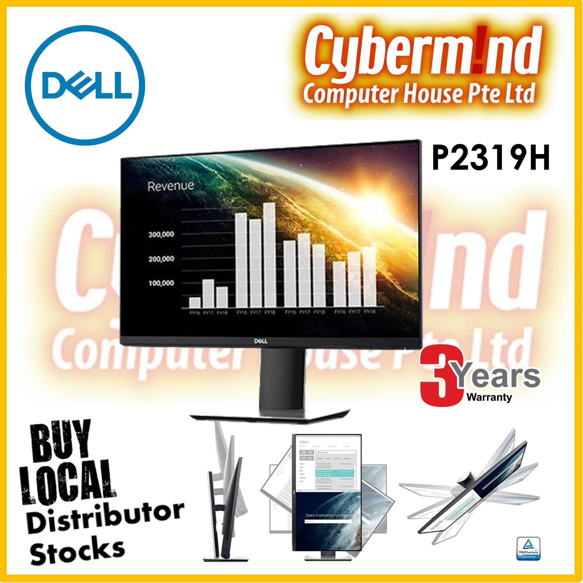 Dell P2319H 23 16:9 IPS  Professional Monitor (3years warranty by Dell Singapore)