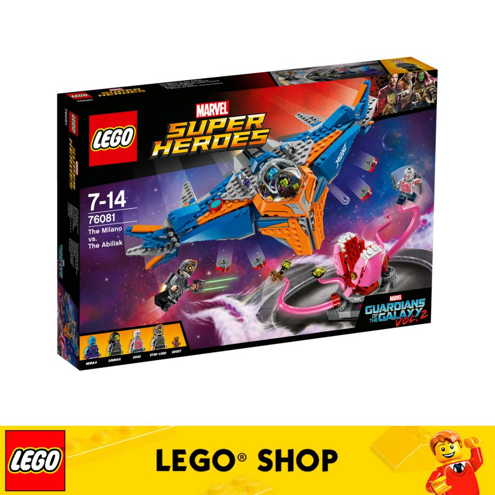 Discount Lego® Super Heroes The Milano Vs The Abilisk 76081