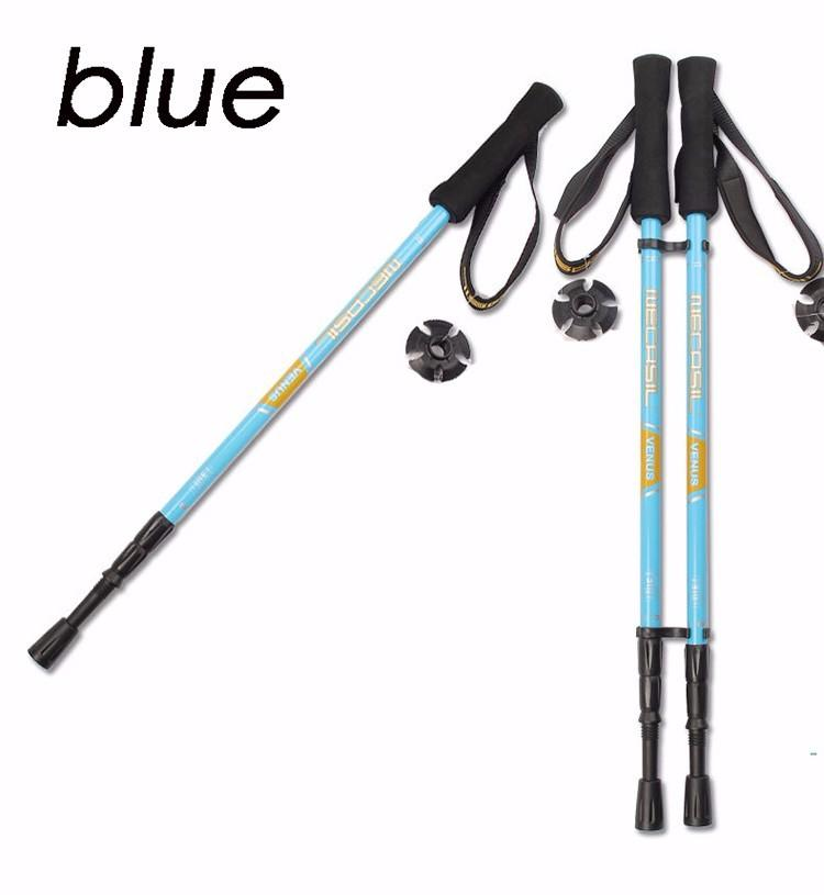 Compare Carbon Fiber Ultralight Carbon Trekking Poles Walking Stick 155G Built In Shock Absorber System Hiking Pole Intl Prices
