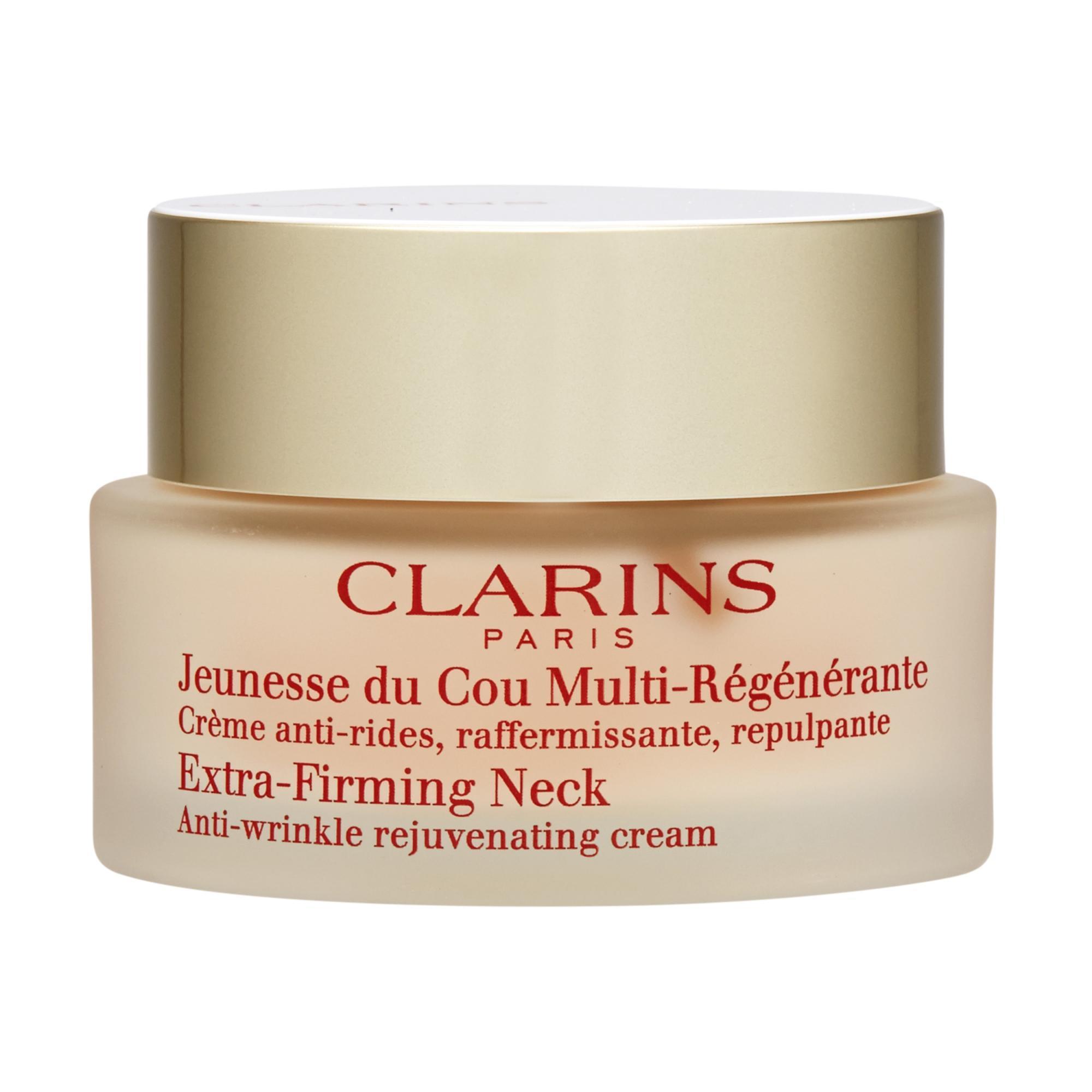 Promo Clarins Extra Firming Neck Anti Wrinkle Rejuvenating Cream 50Ml 1 6Oz Intl