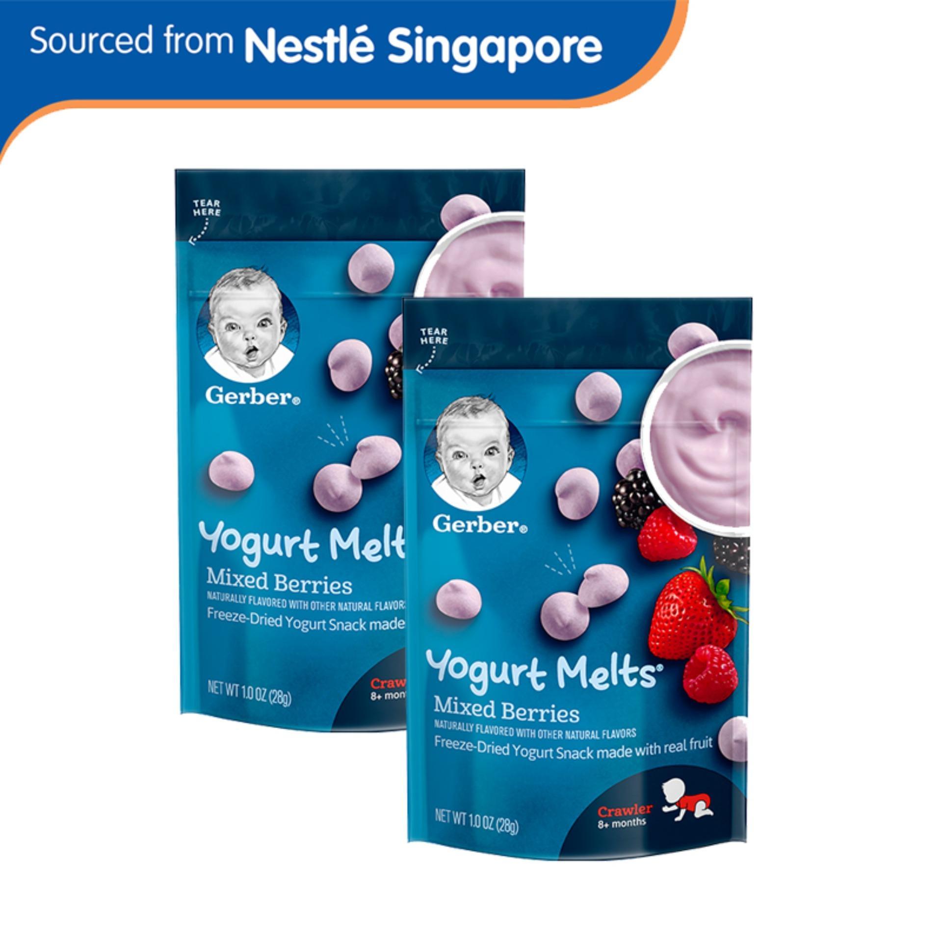 Cheap Gerber® Graduates® Yogurt Melts® Mixed Berries 28G X 2