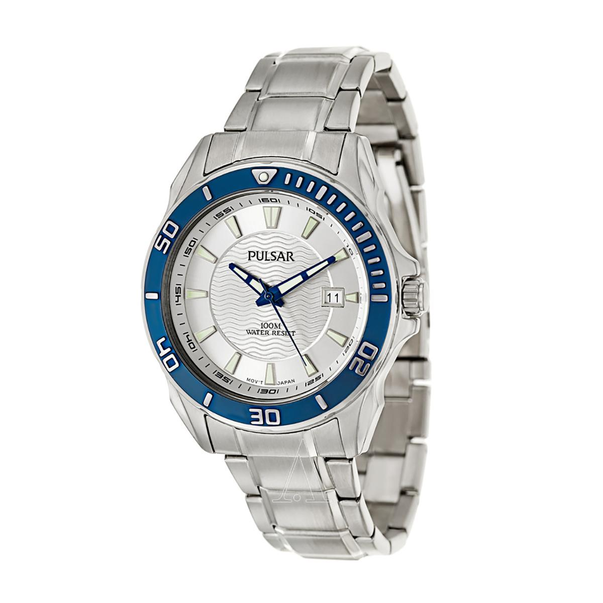Get The Best Price For Pulsar Watch Silver Stainless Steel Case Stainless Steel Bracelet Mens Ps9161