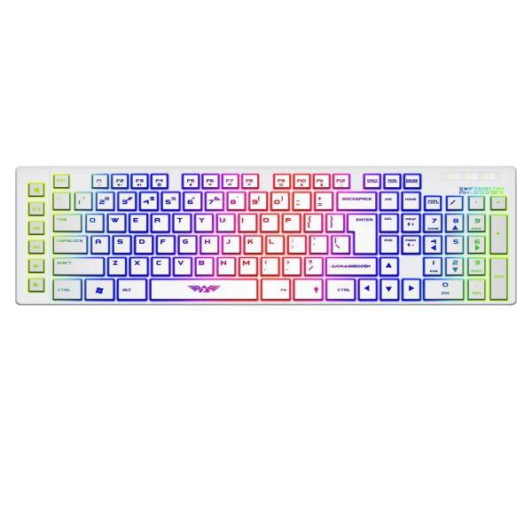 Armaggeddon AK333sfx (Black/White) Gaming Keyboard Singapore