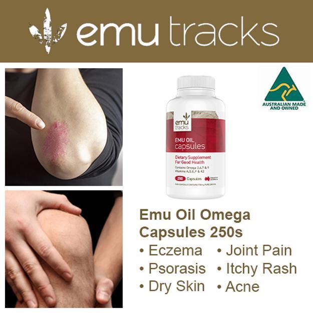 Where To Buy Emu Tracks Emu Oil Capsules 250S