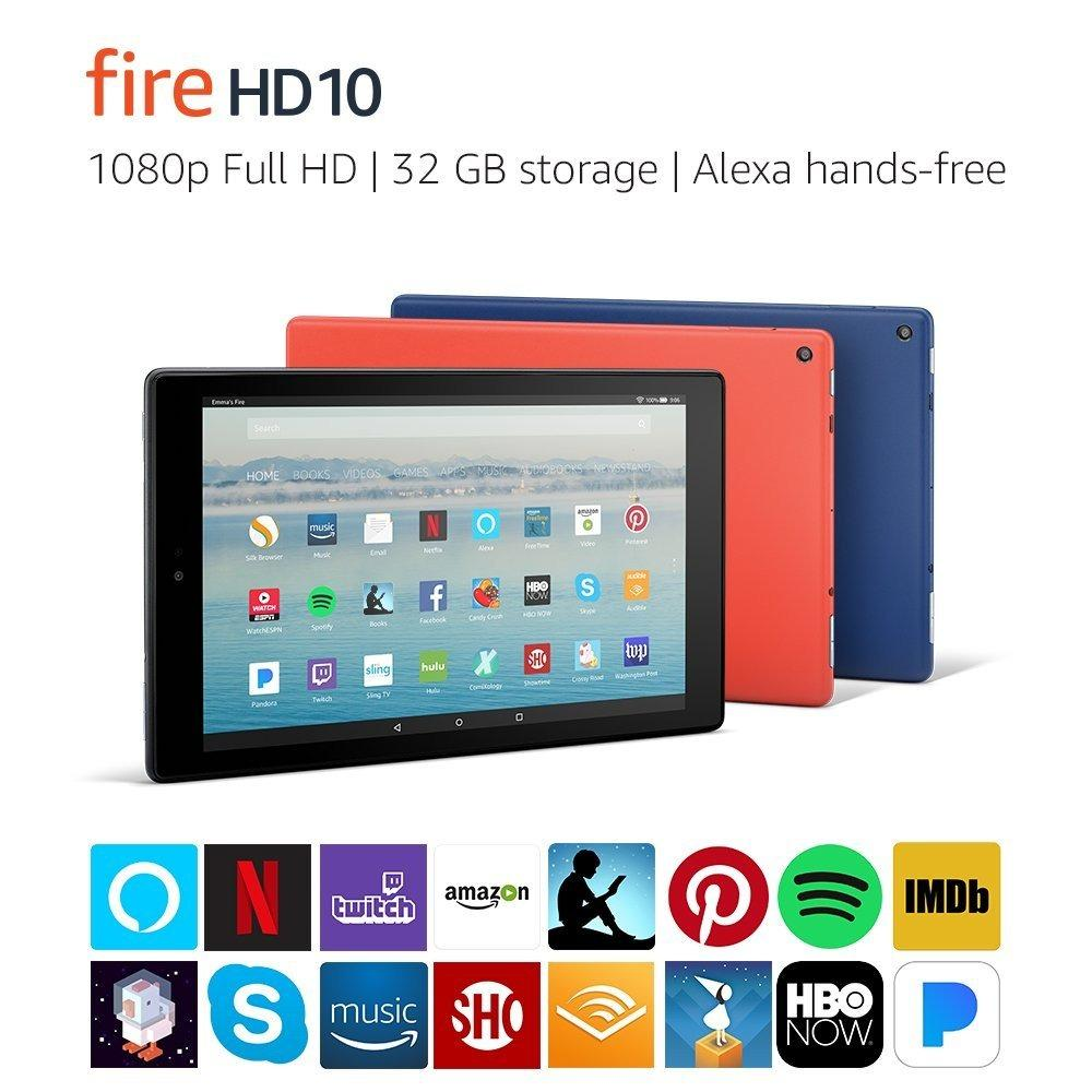 Recent Fire Hd 10 Tablet W Alexa 10 1 1080P Full Hd 32 Gb Black