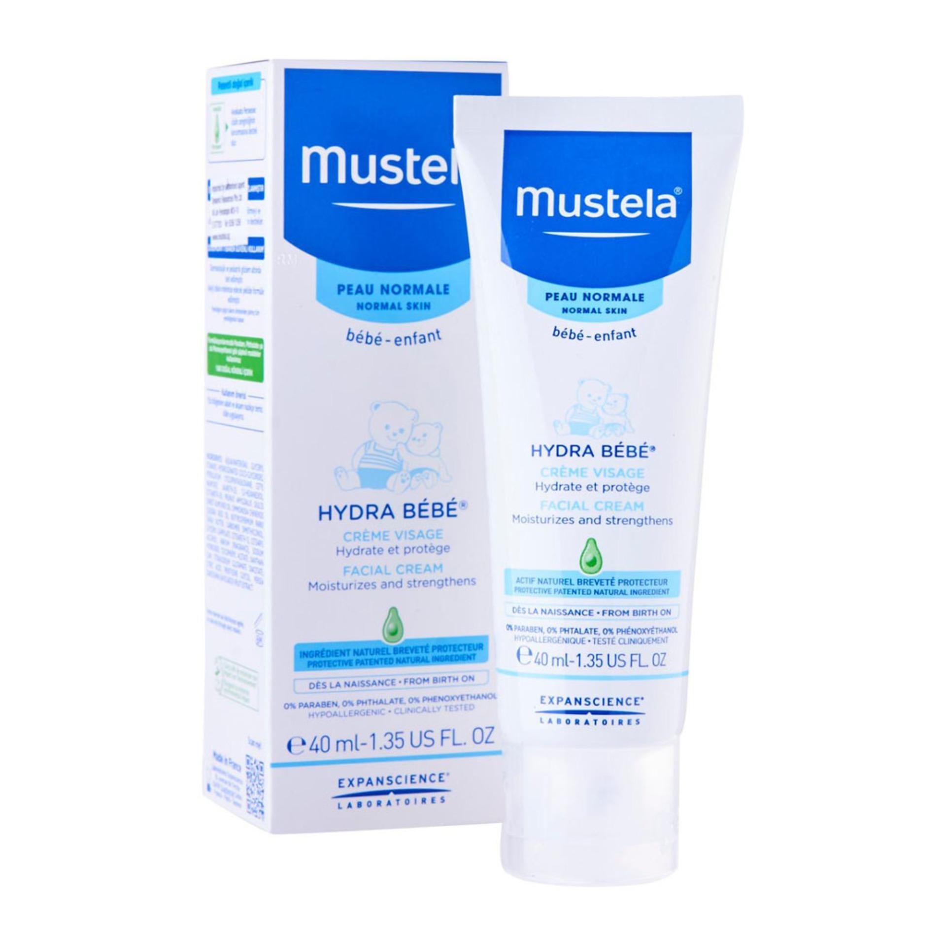 Retail Mustela Hydra Bebe F*C**L Cream 40Ml