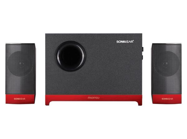 SonicGear 2.1 Bass Speaker with Subwoofer Morro 2  (AUX IN ONLY) Singapore