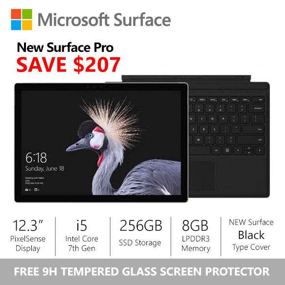 Buy Sale Surface Pro 2017 I5 8Gb 256Gb Alcantara Platinum Type Cover Bundle On Singapore