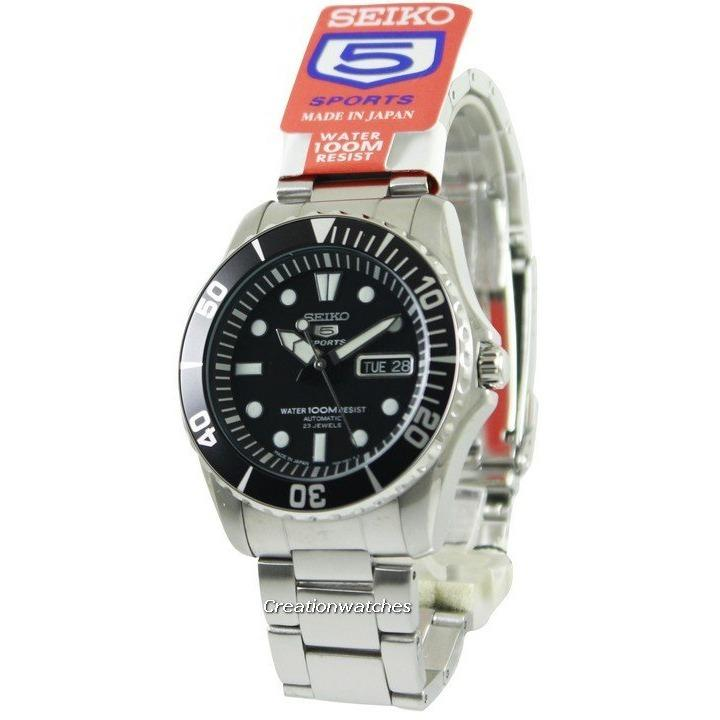 Seiko Automatic Divers 23 Jewels 100M Made In Japan Men S Silver Tone Stainless Steel Bracelet Watch Snzf17J1 Coupon Code