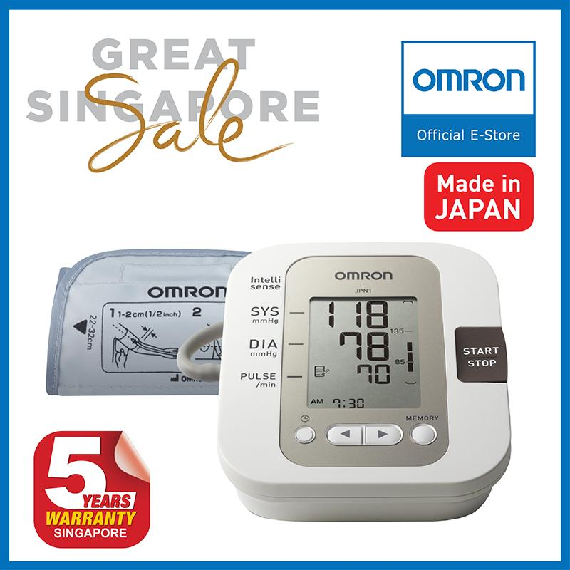 Discount Omron Upper Arm Blood Pressure Monitor Jpn1 Omron On Singapore