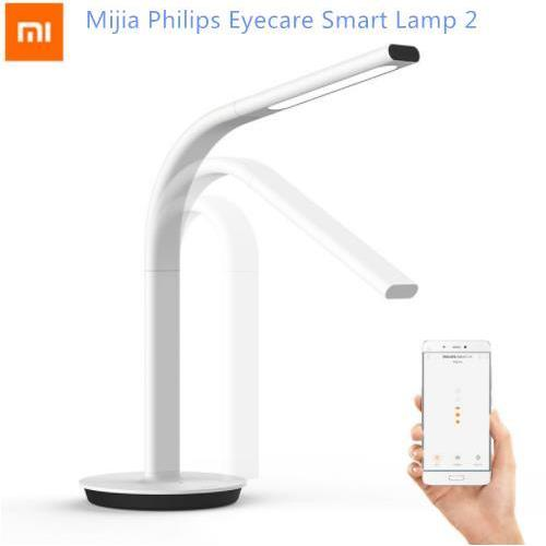 Price Xiaomi Philips Led Light Smart Table Lamp Gen 2 Eyecare Dual Light Support App Xiaomi New