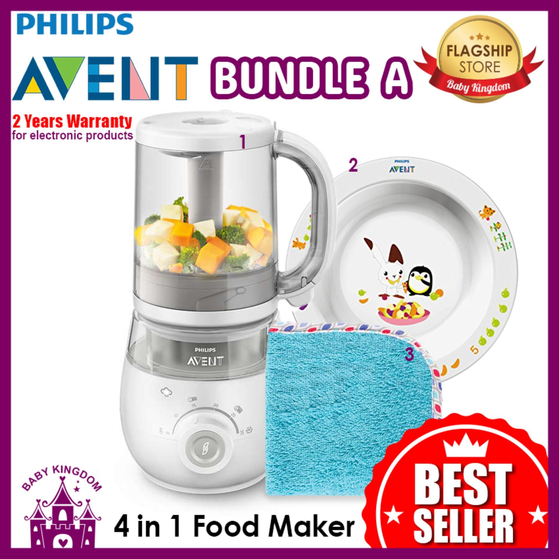 Philips Avent 4 In 1 Healthy Baby Food Maker Bundle A Compare Prices