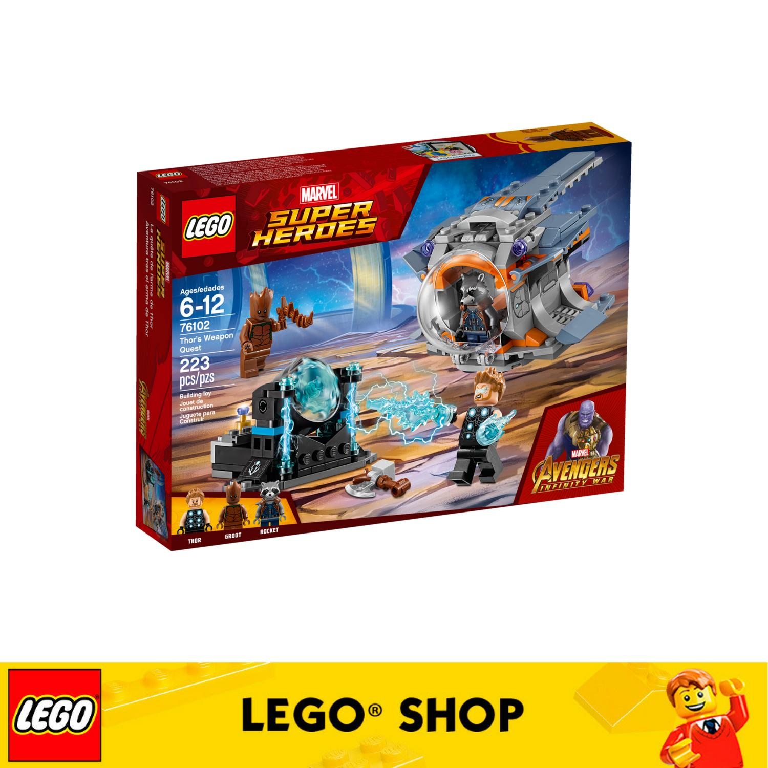 Lego® Marvel Super Heroes Thor S Weapon Quest 76102 Lower Price