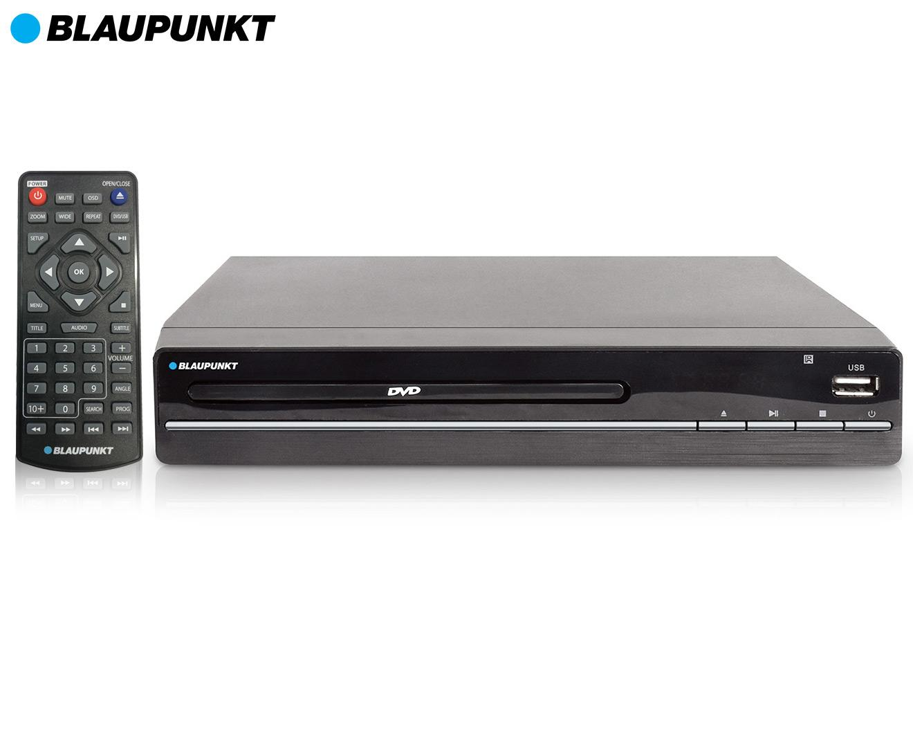 Blaupunkt 2.0CH DVD Player Black