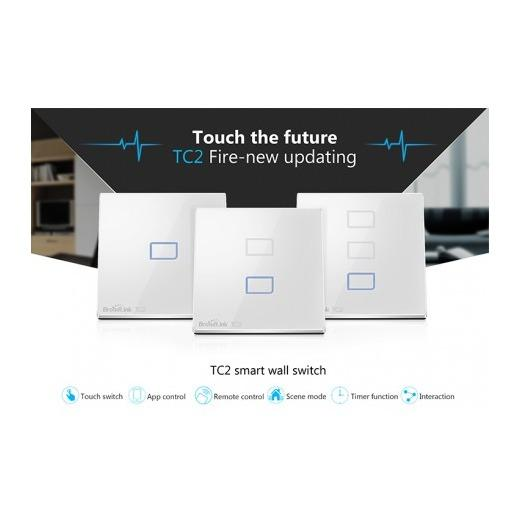 Retail Broadlink Tc2 Remote Control Touch Panel Switch 1 Gang
