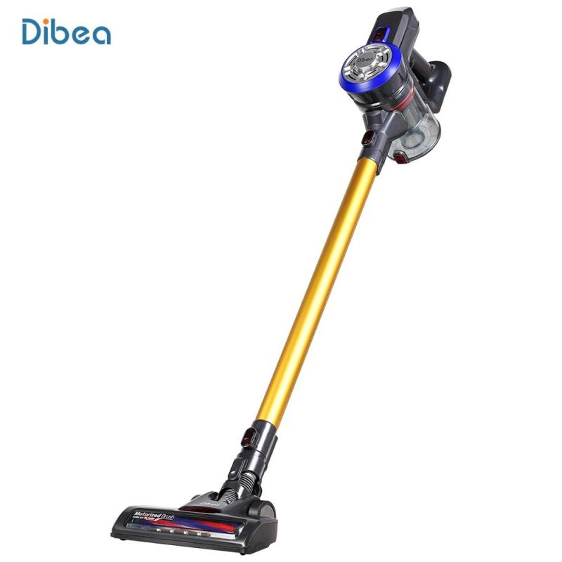 Dibea D18 Vacuum Cleaner Lightweight Cordless Cordless 2 in 1 Handheld Stick with free uk plug adapter Singapore