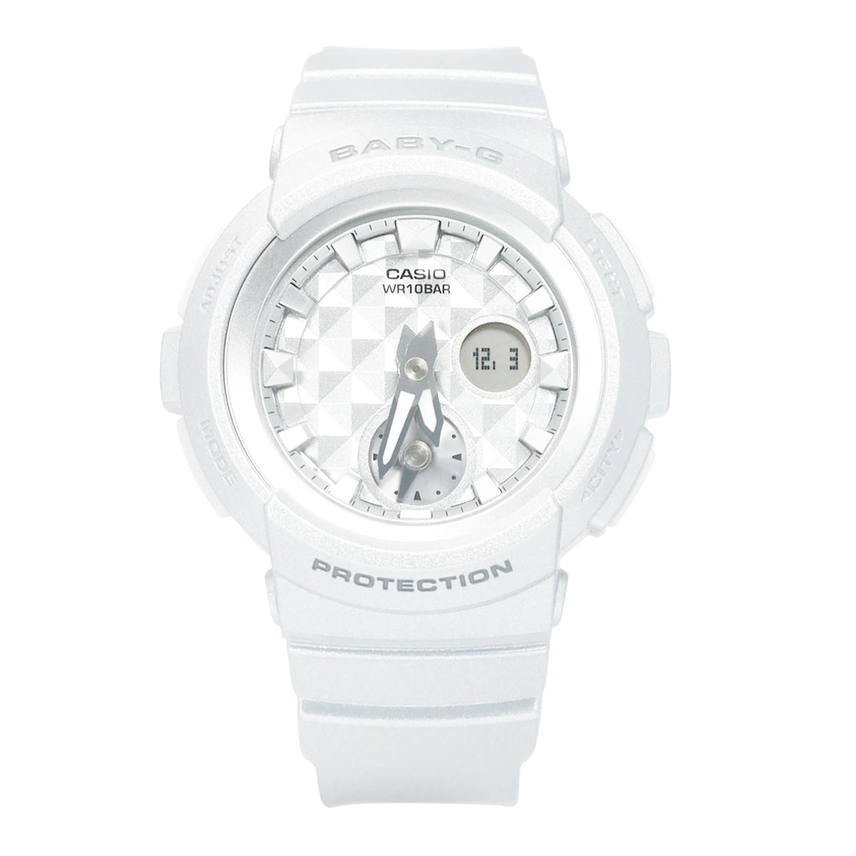 Sale Casio Watch Baby G White Resin Case Resin Strap Ladies Bga 195 7A Casio Baby G On Singapore