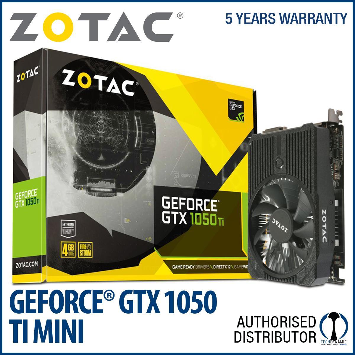 Best Offer Zotac Geforce® Gtx 1050 Ti Mini 4Gb Gddr5