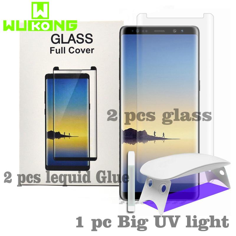 Fitur 2pcs Screen Protector For Samsung Galaxy S8 Plus Note8 3d