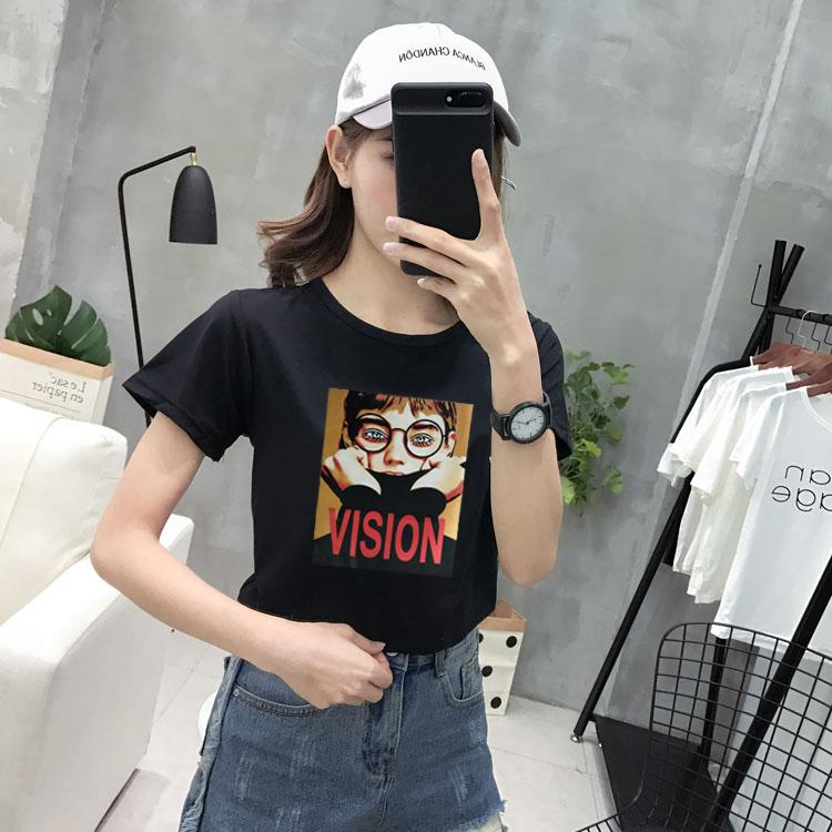 Loose Korean-style summer short sleeved New style T-shirt