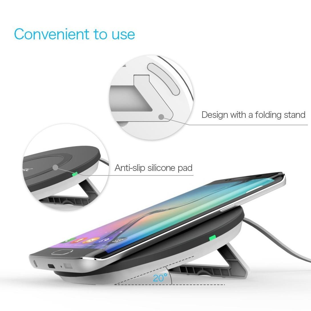 Top Rated Vinsic® Ufo W11 3 Coils Qi Wireless Charger