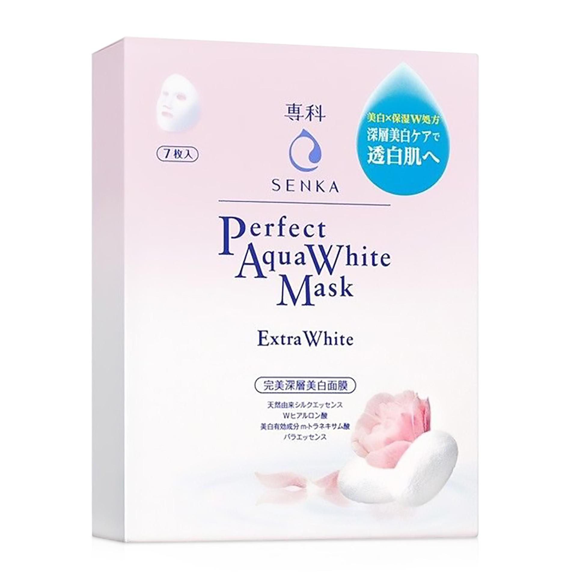 Senka Aqua White Mask Extra White 7P Box Price