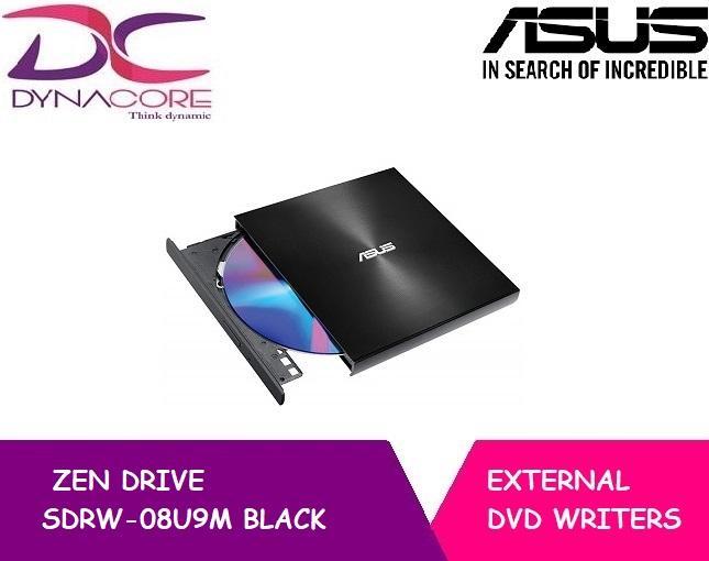 ASUS ZEN DRIVE SDRW-08U9M EXTERNAL WRITER (BLACK)