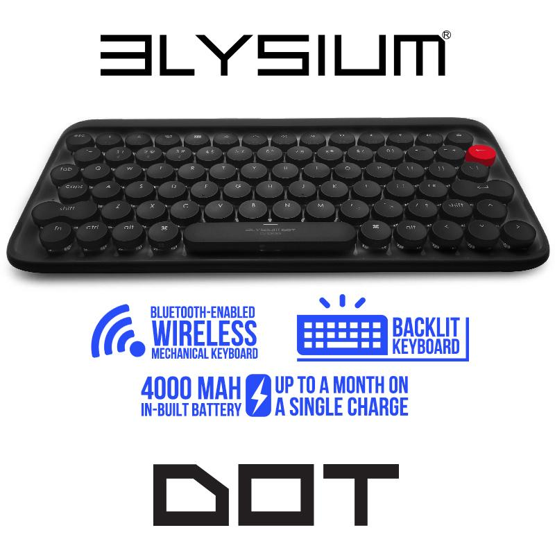 Wireless mechanical keyboard Elysium Dot